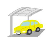 センサーライトを設置すると効果的なカーポート